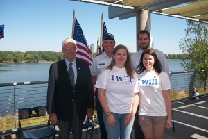 Des Moines Alumni organized the first annual 9/11 Day Community and Remembrance Walkd Remembrance
