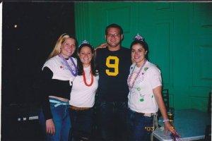 NCCC Class IX Alums Erin, Jackie, Brian, and Rebecca.