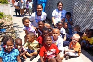 Serving during Summer Week 4: Operation Breakthrough with Audrey Simmons, Youth Volunteer.