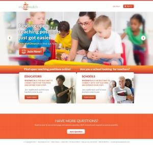 MyEDMatch Web Homeroom Page