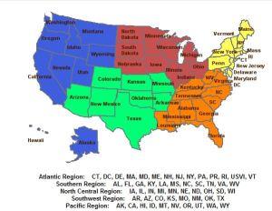 CNCS Regions
