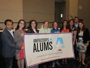 AmeriCorps Alums Chapters Leaders at NCVS 2012 in Chicago.
