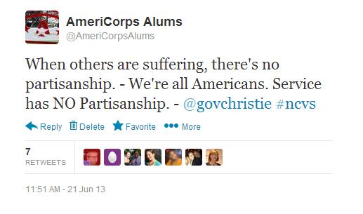 christie tweet