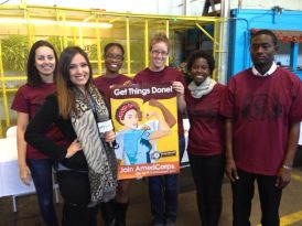 "San Diego AmeriCorps Alums and current members served on 2014 MLK, Jr Day to ""Get Things Done."""
