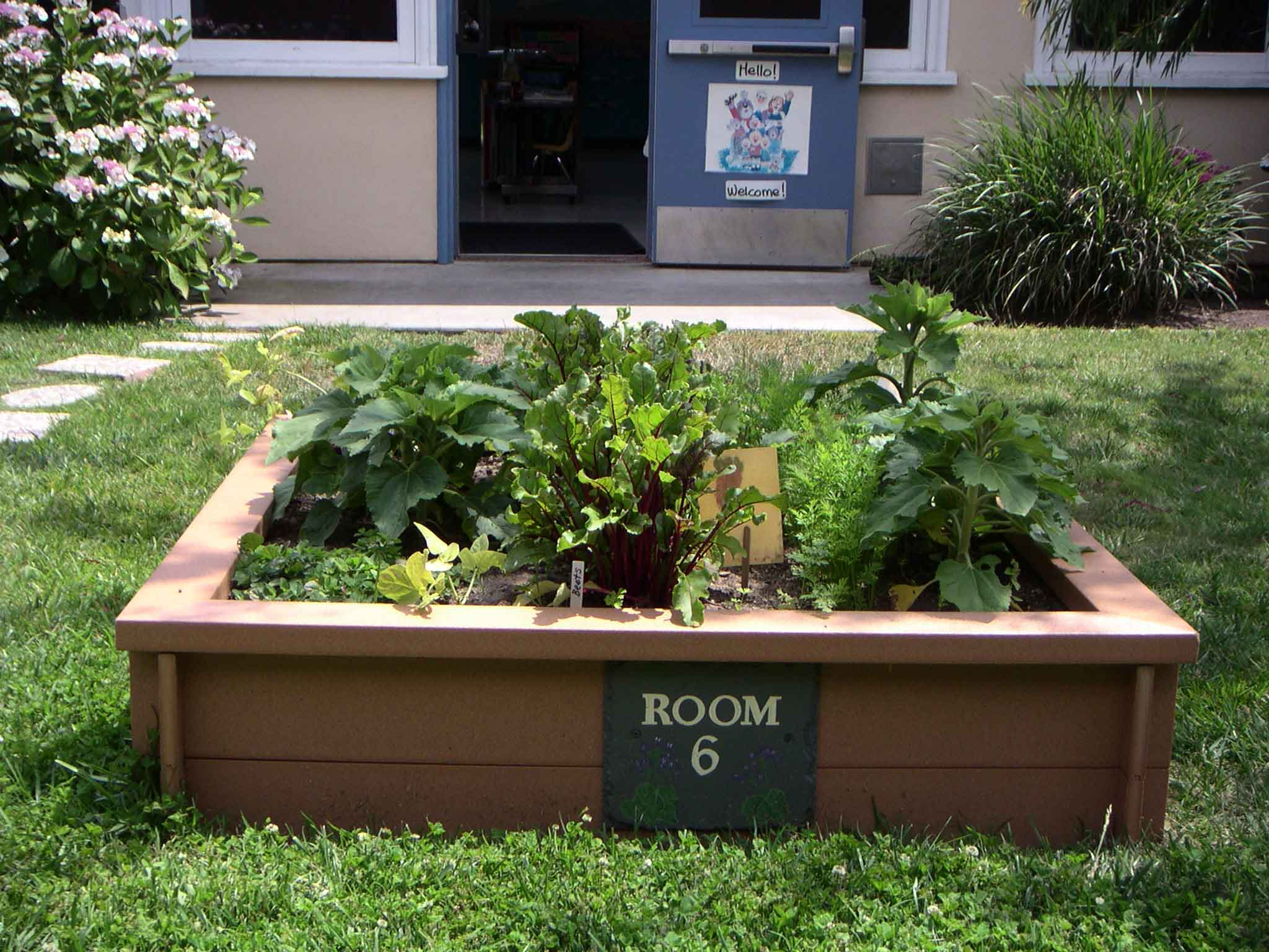 Why a healthier future for our next generation matters a for Boxed garden designs