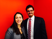 AMERICORPS ALUMS Co-Executive Directors Mary Bruce and Ben Duda