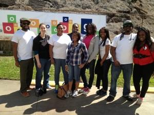 Serving at Atlanta's Community Food Bank with Year Up's Alumni Board