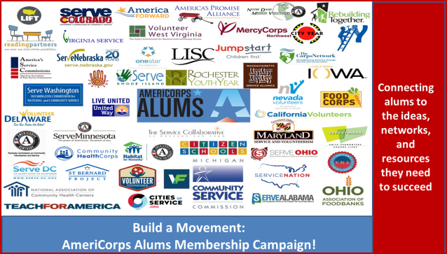 State Commissions and Partners Support AmeriCorps Alums Membership