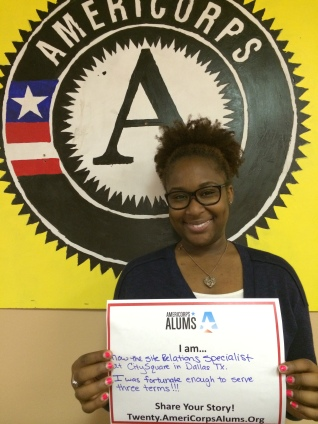 "Callie McGary, AmeriCorps was ""an absolute blessing on my life."""