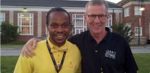 Jamiel with General Stanley McChrystal