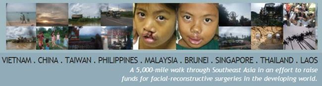 The Smile Trek website banner: http://smiletrek.org/
