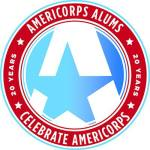 20th anniversary of AmeriCorps Alums logo