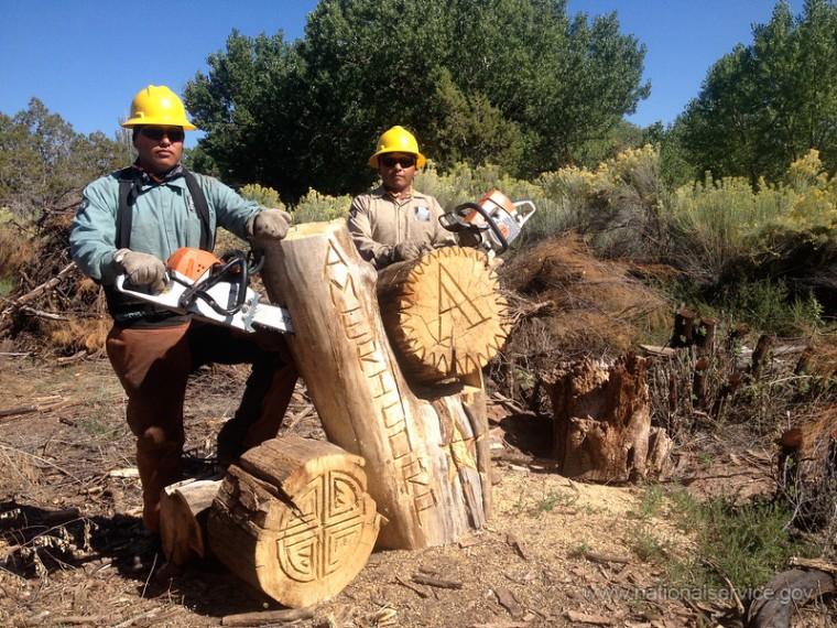 Southwest Conservation Corps in Gandado, AZ. (From nationalservice.gov)