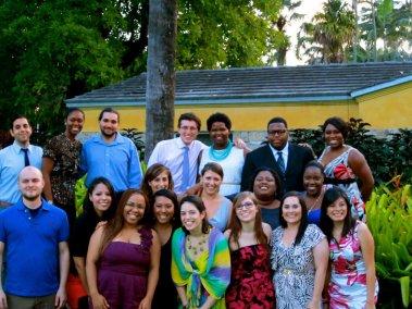 Public Allies Miami Class of 2012 at Mara's Allies Graduation
