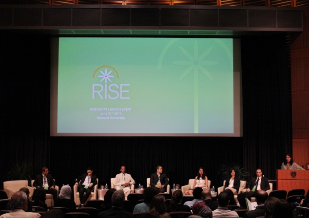 RISE Egypt launches its flagship RISE Fellowship Program in June 2014 (Harvard University; Boston, MA)