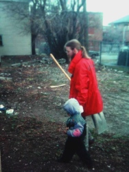 Matthew during his City Year service