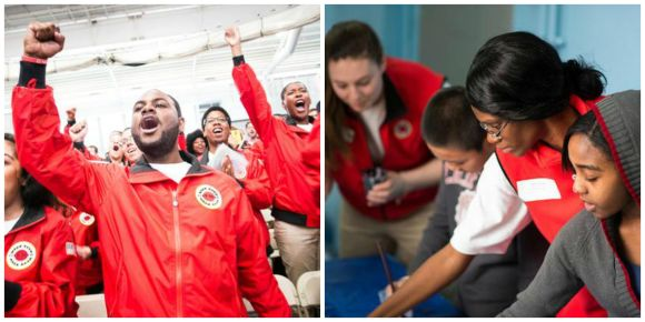 City Year grads in Boston & NY finish the service year strong