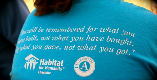 Photo by Habitat for Humanity Charlotte
