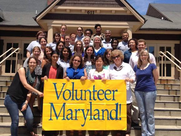 Volunteer MD captures the graduation of its 27th AmeriCorps Class