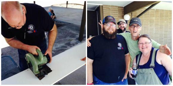 WA Vet Corps squeezes in one last service project before their graduation party!