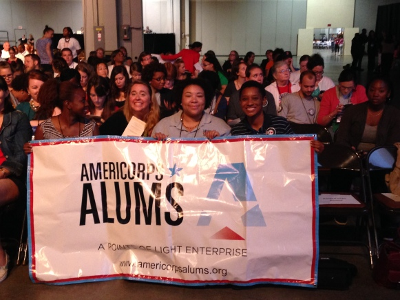 AmeriCorps Alums at the 2014 Conference on Volunteering and Service.