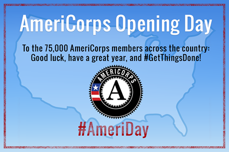 AmeriCorps Opening Day