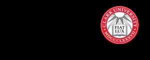 Clark University Horizontal Red Tag