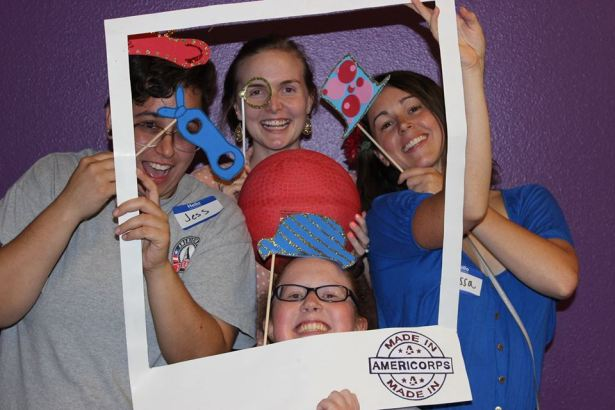 Austin photo booth made in americorps