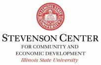 Stevenson Center ISU logo